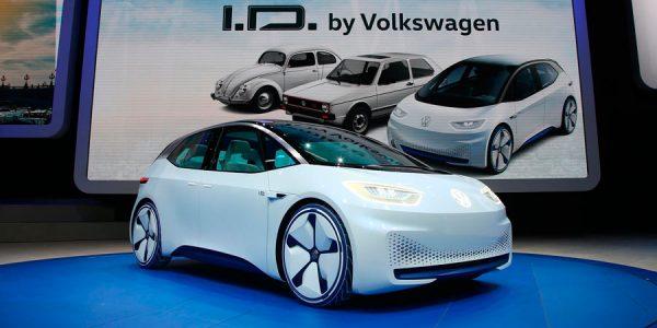 Nuevo Volkswagen concept eléctrico en París 2016