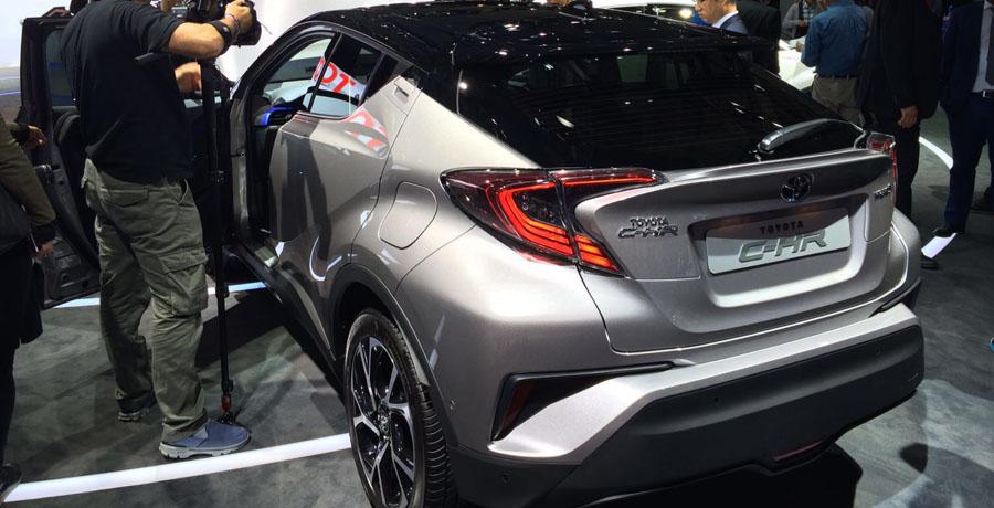 El Toyota C-HR definitivo en el Salón de París 2016