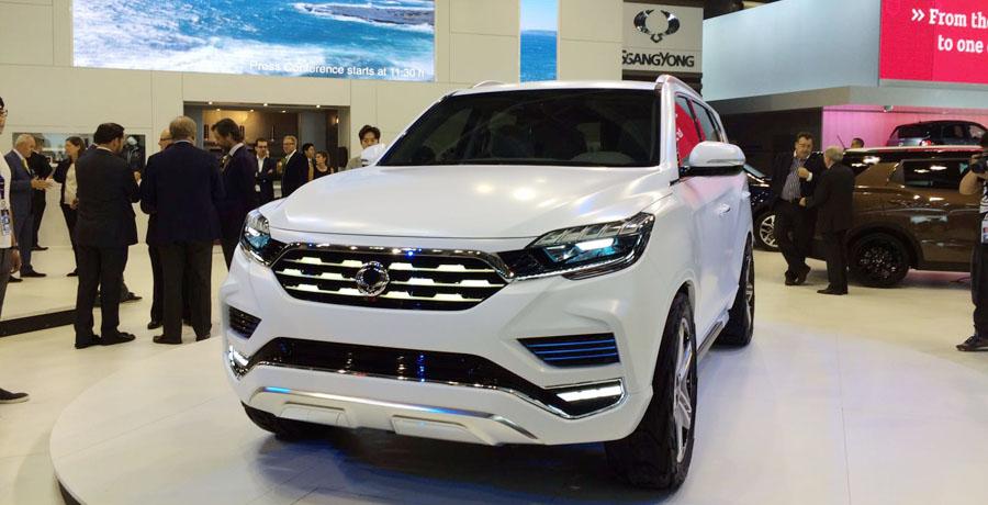 SsangYong LIV-2 Concept: ¿sustituto del Rexton?