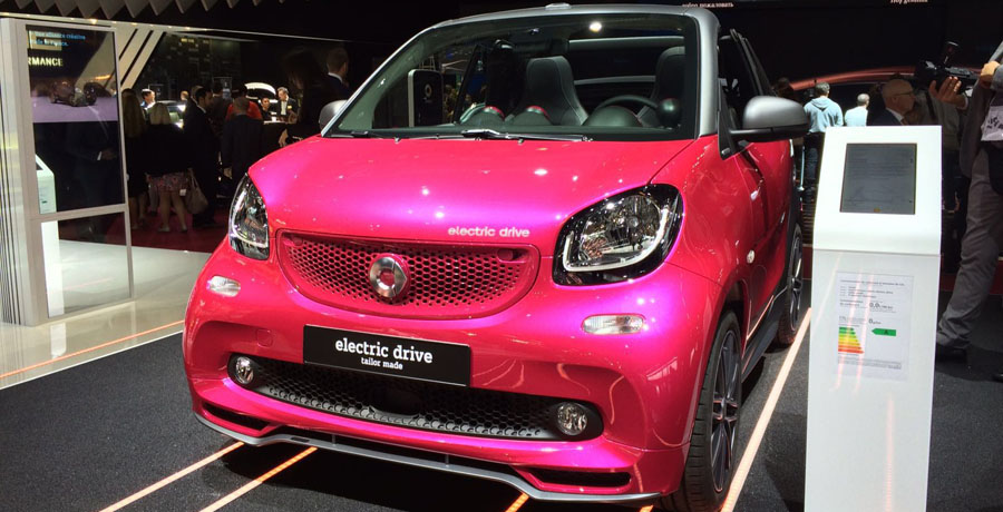 Smart electric drive: versiones eléctricas para los Fortwo y Forfour