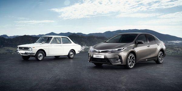 50 aniversario del Toyota Corolla el coche más vendido del mundo