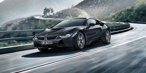 BMW i8 edición Protonic Dark Silver en París 2016