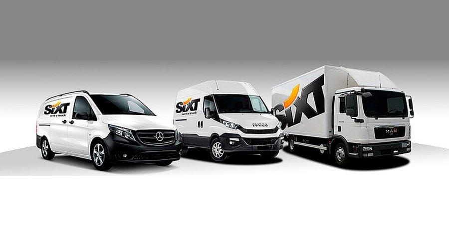 Consejos Sixt para conducir una furgoneta por primera vez