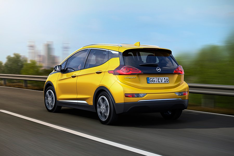 El Opel Ampera-e se estrena en París 2016 3
