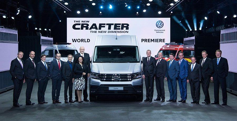 Elegida la Volkswagen Crafter como mejor furgoneta del año 2017