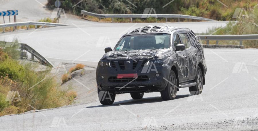 Fotos espía del nuevo Nissan Pathfinder