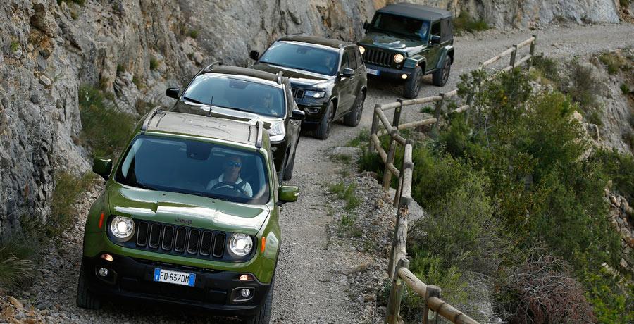 Jeep celebra su 75 aniversario