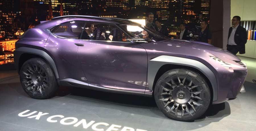El Lexus UX Concept debuta en París 2016