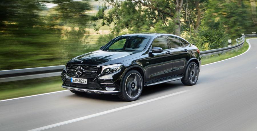 Mercedes-AMG GLC 43 Coupé, el más potente y rápido de la gama