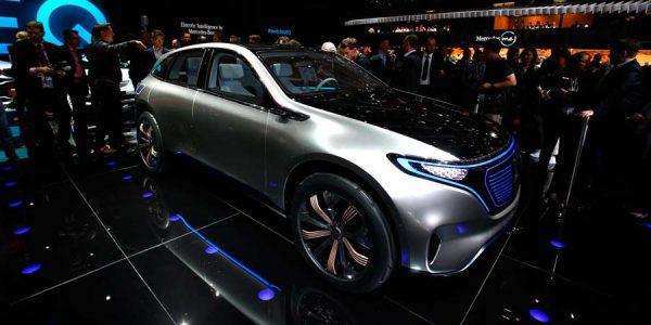Mercedes Generation EQ, completamente eléctrico en París