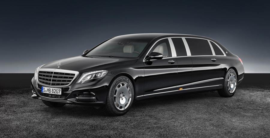 Mercedes-Maybach S600 Pullman Guard: a prueba de balas