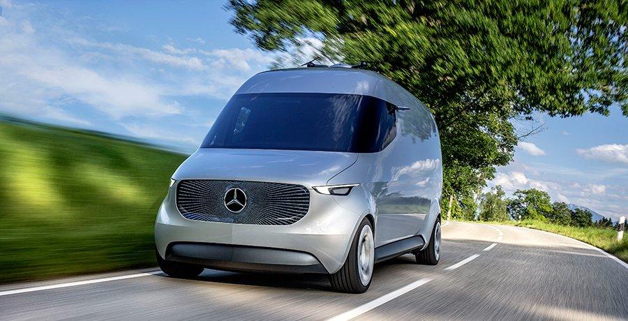 Mercedes Vision Van la furgoneta del futuro