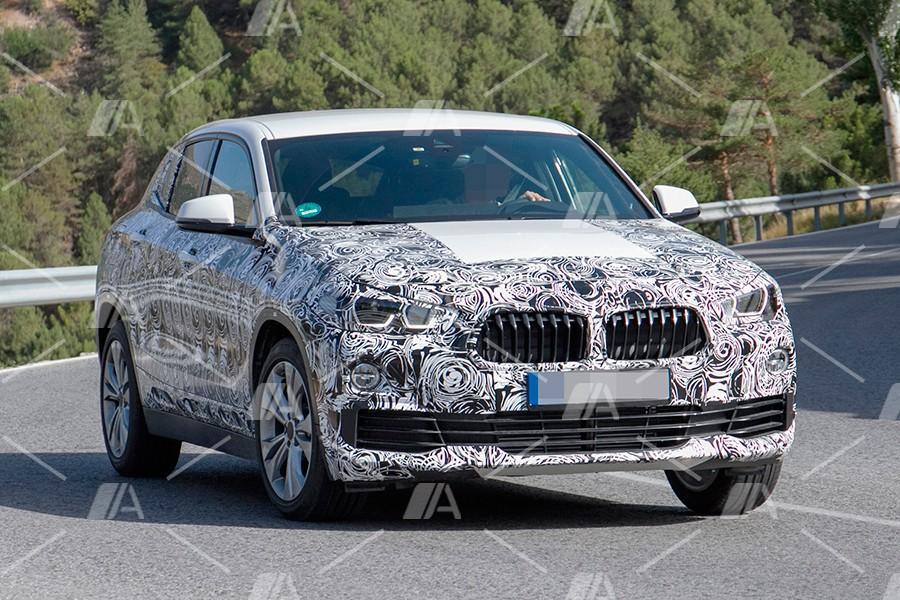 Nuevas fotos y vídeo espía del nuevo BMW X2 2018