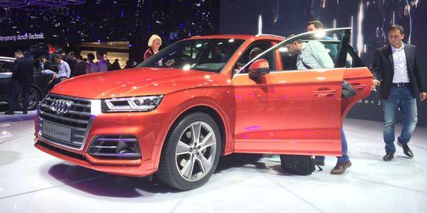 Nuevo Audi Q5 2017: el SUV alemán estrena generación en París