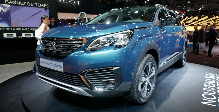 Nuevo SUV Peugeot 5008, 2016