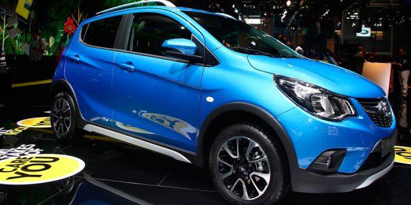Opel Karl Rocks, la versión campera del utilitario