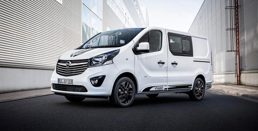 Opel amplía la gama del Vivaro con una variante Sport