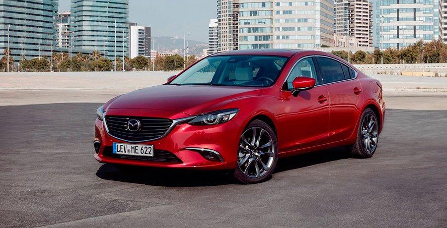 Presentación y prueba del nuevo Mazda6 2017