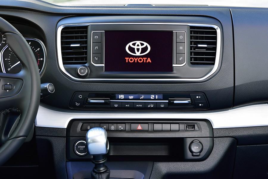 Presentación y prueba del nuevo Toyota Proace 2017