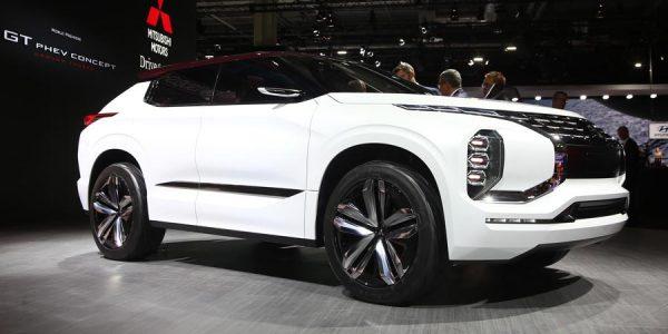 Mitsubishi GT-PHEV, anticipo del próximo gran SUV de la marca