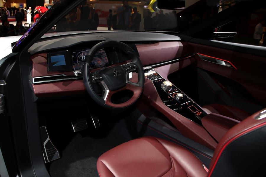 Mitsubishi gt phev anticipo del pr ximo gran suv de la for Salon paris 2016