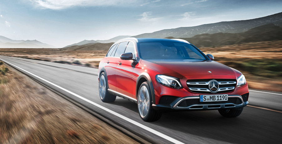 All-Terrain, el Mercedes Clase E todoterreno