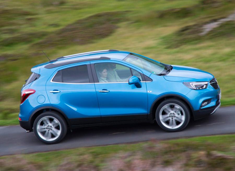 El nuevo Opel Mokka estará disponible con tracción delantera o a las 4 ruedas, 4WD.