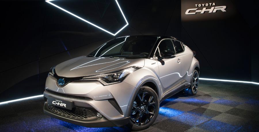 Desembarca en España el nuevo Toyota C-HR