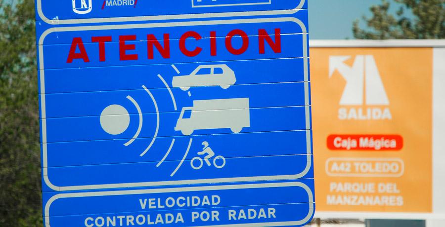 Donde están los radares de tramo en toda España