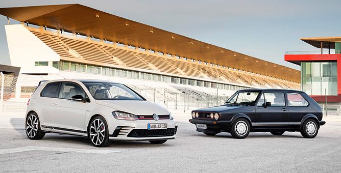 40 años de historia del VW Golf GTi