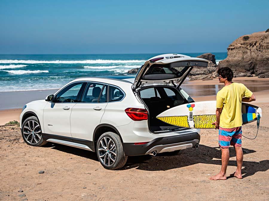 Los aficcionados a deportes al aire libre encuentran en los SUV a su vehículo ideal.