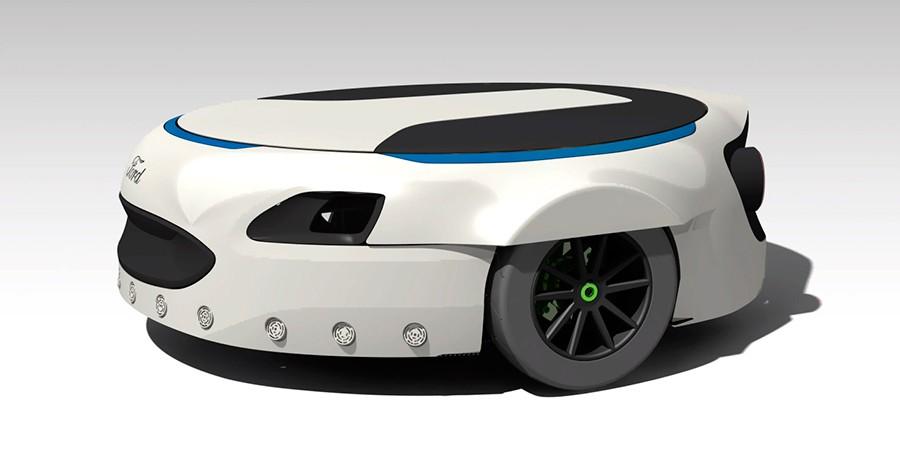 Carr-E la rueda de repuesto de Ford que te lleva al trabajo