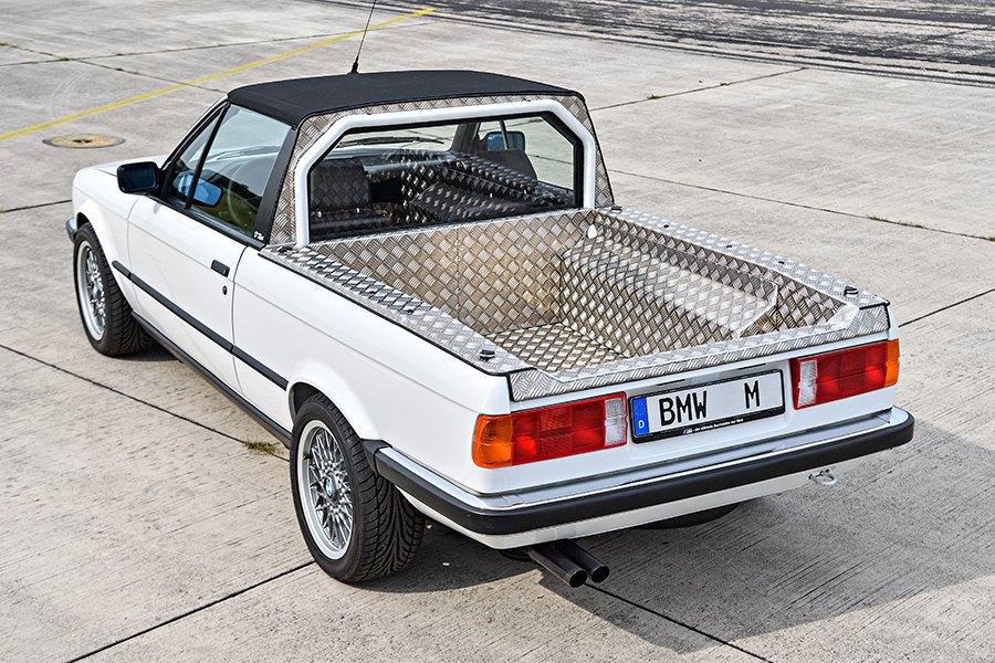 El BMW M3 pick up ha estado en funcionamiento más de 20 años.