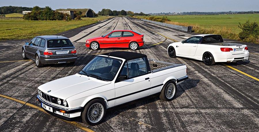 Cuatro BMW M3 únicos salen a la luz