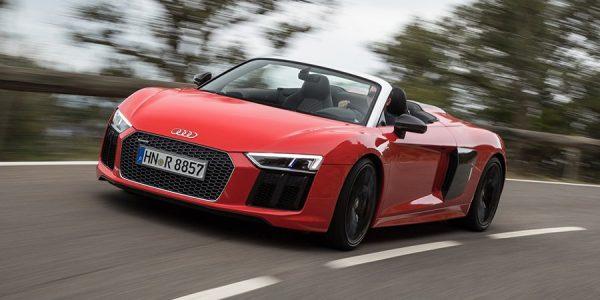 Ya está a la venta el nuevo Audi R8 Spyder descapotable