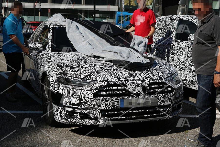 Fotos espía del Audi A8 2017