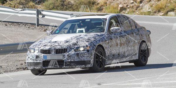 Fotos espía del BMW Serie 3 2018