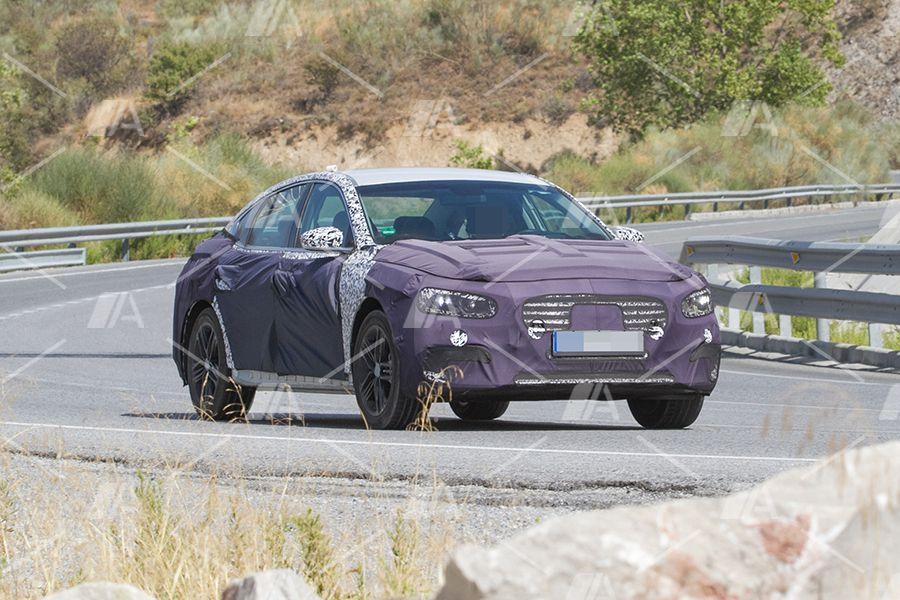 Fotos espía del Hyundai Grandeur 2017