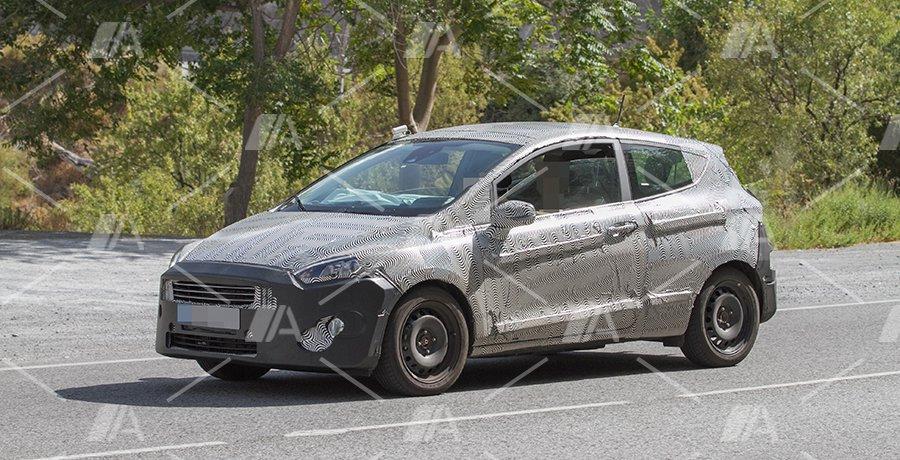 Fotos espía del Ford Fiesta Mk VII