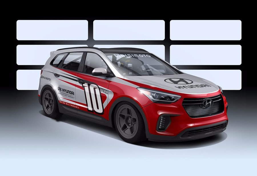Hyundai Santa Fast SEMA Las Vegas 2016