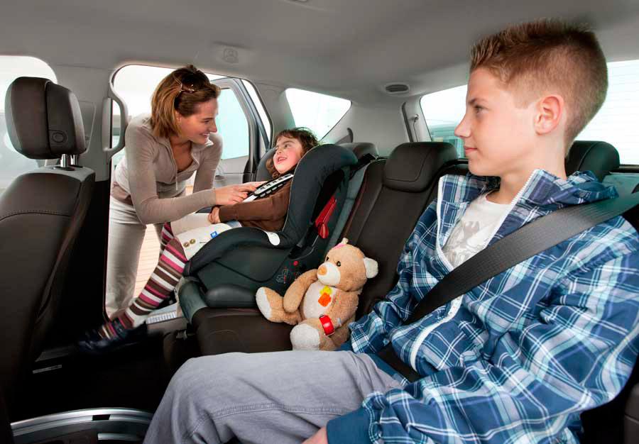 Cinco de los 14 sistemas de retención infantil no pasaron el test.
