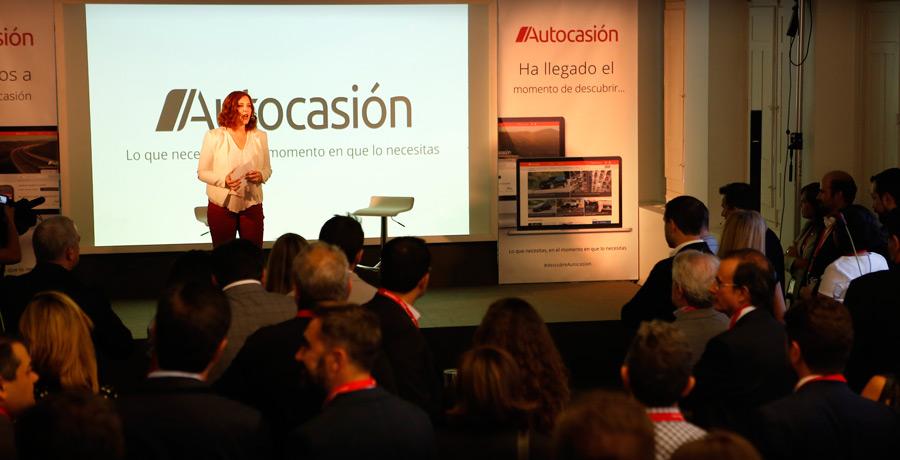 Presentación de la nueva web de Autocasión.
