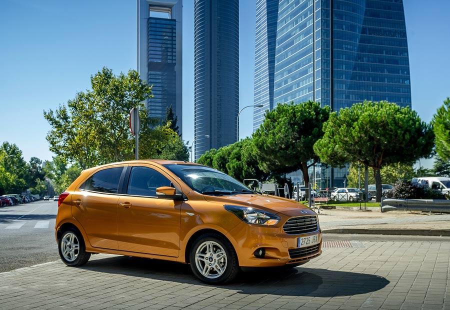 Completamente nuevo, el Ford Ka+ tiene 5 puertas y 5 plazas.