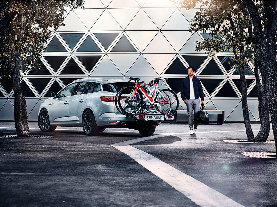 Además del equipamiento que puede montar, el Mégane Sport Tourer cuenta con un amplio catálogo de accesorios.