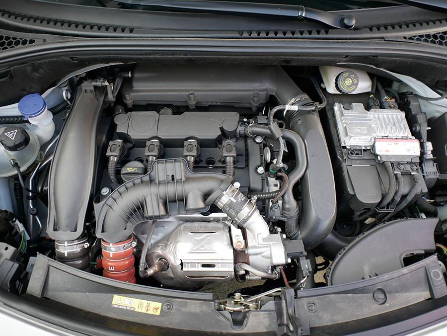 En este caso el motor 1.6 turbo de gasolina entrega 165 CV.