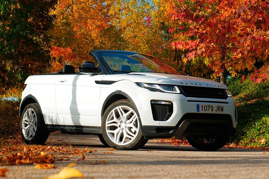 Prueba del Range Rover Evoque HSE Convertible 2016