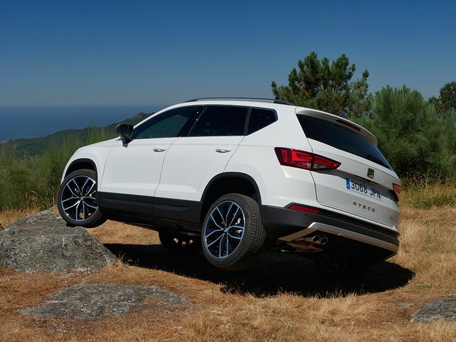 Las mayores limitaciones del Ateca 4Motion vienen impuestas por sus cotas y el tipo de neumáticos que monta.