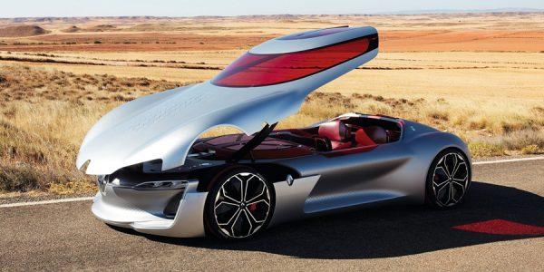 Renault Trezor, la novedad del Salón de París más valorada