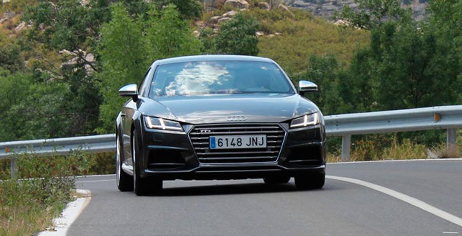 Prueba Audi TTS quattro automático S-Tronic