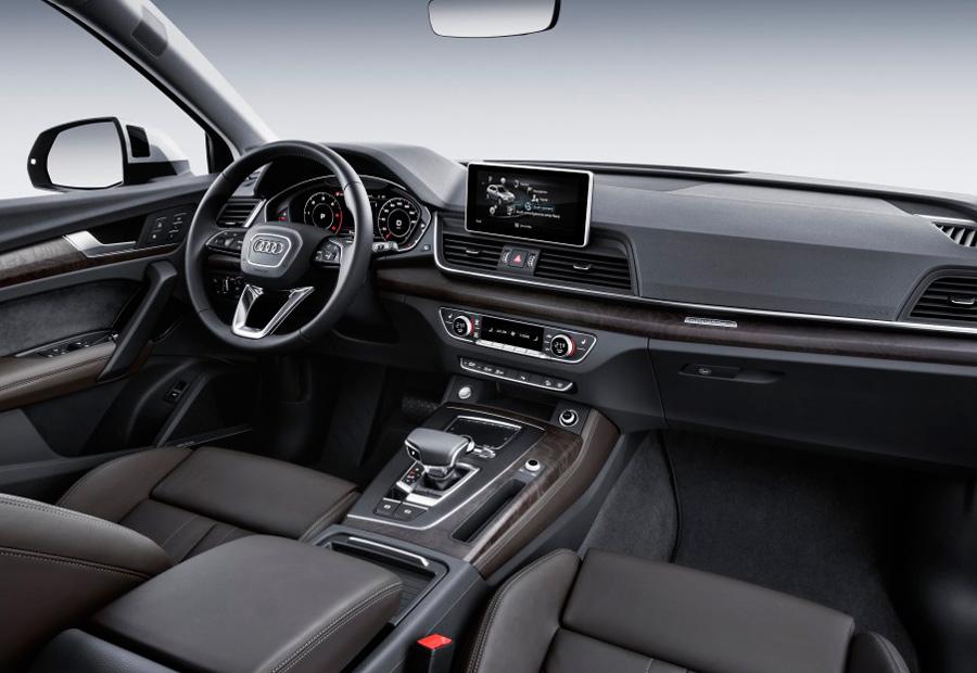El interior del nuevo Audi A5 promete ser tan bueno como los que está haciendo la marca en los últimos años.